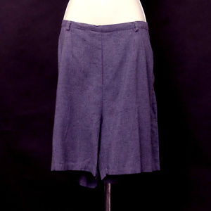 Vintage 1950s Light Cotton Tailored Shorts